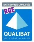 Entreprise qualifiée RGE Qualibat